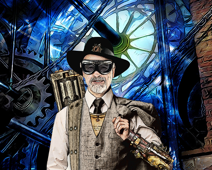 Terry Pratchett for Pointer magazine